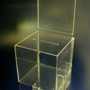 2-Ballot Box With Full Header and Card Holder With side Brochure Holder 2.1